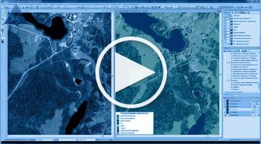 Классификация подстилающей поверхности в ПК IMAGE MEDIA CENTER (GeoEye)
