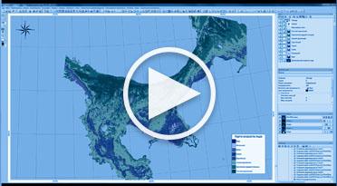 Формирование карты возраста льда в ПК IMAGE MEDIA CENTER