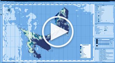 Формирование карты сплоченности льда в ПК IMAGE MEDIA CENTER