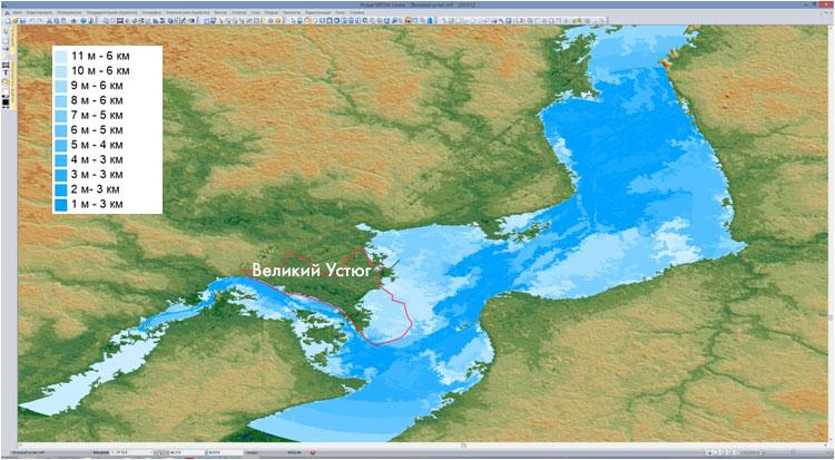 Моделирование наводнений в ПК IMC и благодарность от МОГО