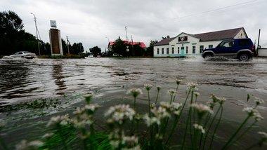 Моделирование затоплений в Приморье для МЧС России