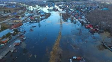 Моделирование затоплений в г.Ишим Тюменской области для МЧС России