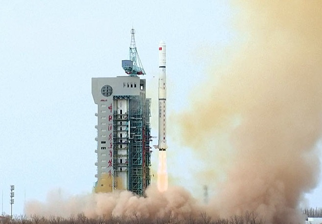 China launches fourth group of Earth remote sensing satellites