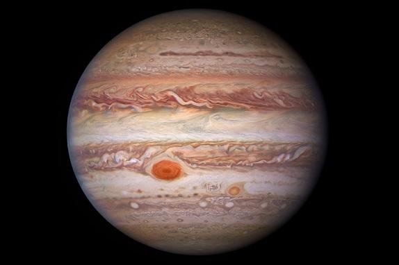 Scientists have published unique photos of Jupiter
