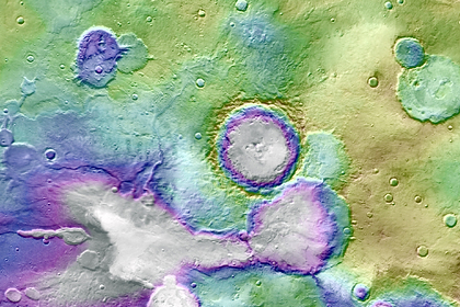 Traces of giant catastrophic floods found on Mars